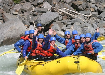 River Rafting in the Columbia Valley