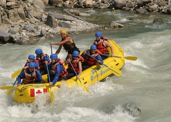 River Rafting near Radium