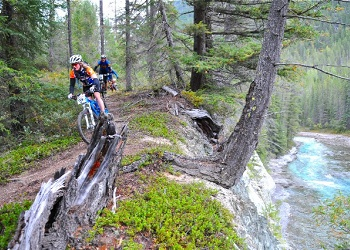 Mountain Biking near Radium