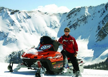 Snowmobiling the Columbia Valley